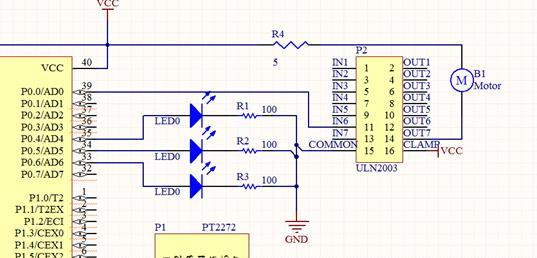 uln2003步进电机驱动电路
