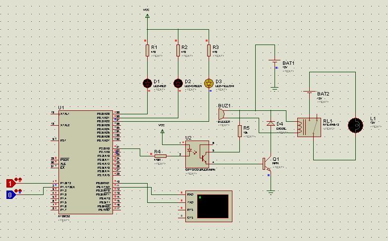 水位检测控制器的接线图