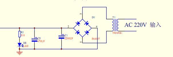 ac-dc电压变换电路原理图设计