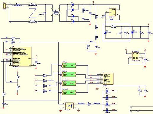 1.2 绿光驱动电路原理图高清图片