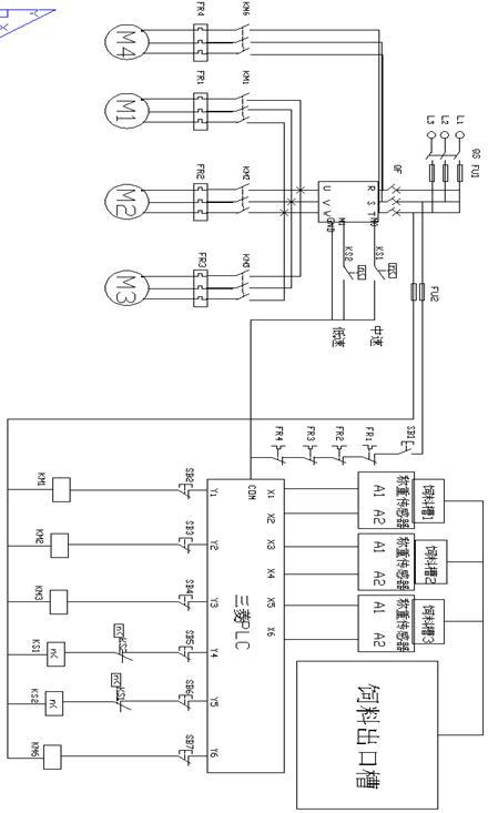 11 10 附录 附录一:plc接线图