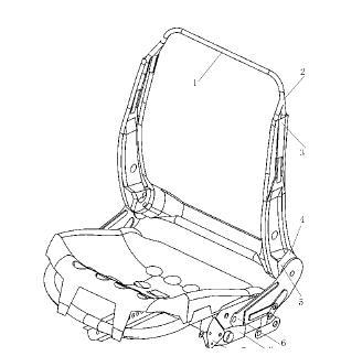 新中式座椅设计手绘