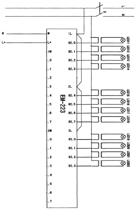 8086 8259微机交通信号灯电路图