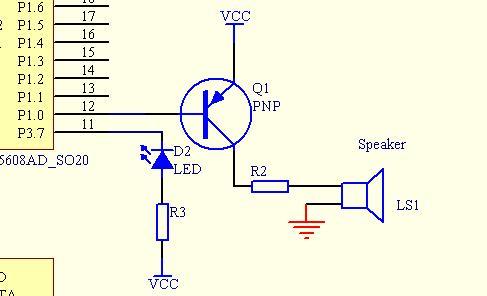 蜂鸣器 声控电路