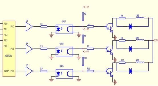 第一章 前言 1.1步进电机简介 步进电机最早是在1920年由英国人所开发。1950年后期晶体管的发明也逐渐应用在步进电机上,这对于数字化的控制变得更为容易。以后经过不断改良,使得今日步进电机已广泛运用在需要高定位精度、高分解性能、高响应性、信赖性等灵活控制性高的机械系统中。在生产过程中要求自动化、省人力、效率高的机器中,我们很容易发现步进电机的踪迹,尤其以重视速度、位置控制、需要精确操作各项指令动作的灵活控制性场合步进电机用得最多。步进电机作为执行元件,是机电一体化的关键产品之一, 广泛应用在各种自动化