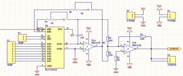 正弦波信号发生器 设计要求:一般的信号源,采用单片机设计,而普通的8位单片机,由于单指令需要12个机器周期,而且采用顺序执行的方式,12MHz的晶振最大只能产生频率为位30KHz左右的正弦波要求设计一个基于ALTERA公司的CYCLONE II的EP2C8Q208C8N的FPGA的信号源,使频率达到1MHZ以上。 摘要:本文介绍了一种基于CLYCLONE的正弦信号源的设计,调用了FPGA中的嵌入式锁相环(PLL),只读存储器(ROM)。PLL将外部输入的20MHz的晶振信号倍频到400MHz之后,作为信号