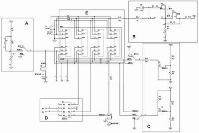 单节锂电池保护ic的应用电路很简