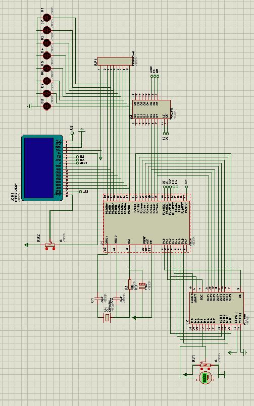 基于单片机的电池电压检测系统