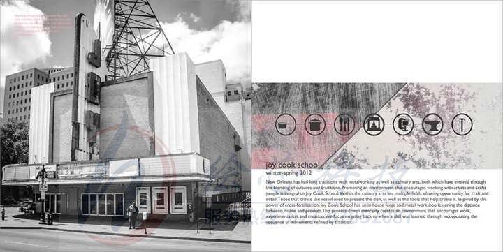 建筑展示册子设计