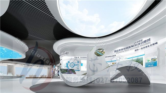 企业展厅设计-城市规划馆设计要点_展厅设计展览馆设计_科技馆展厅设计